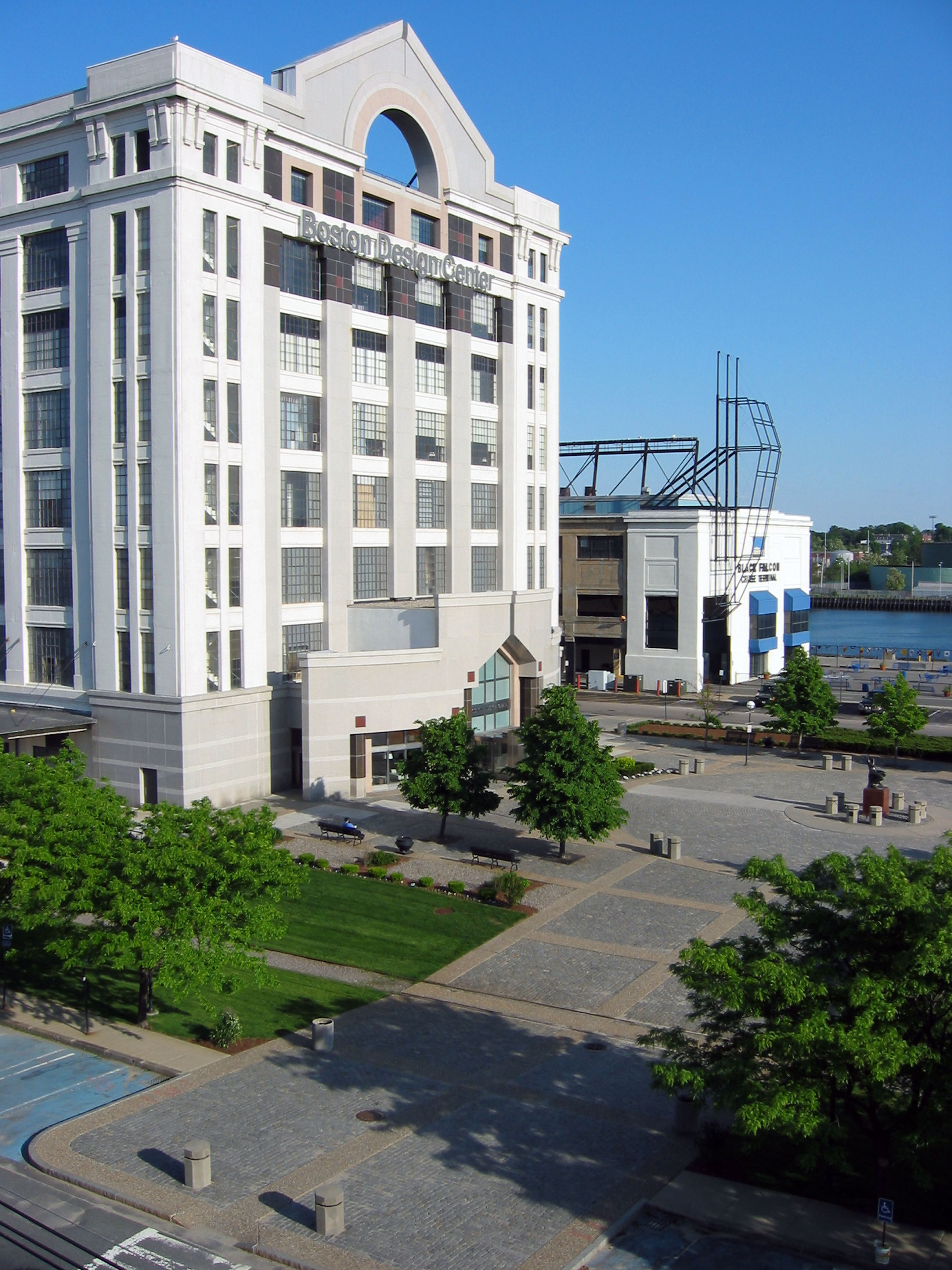 boston design center warner larson landscape architects