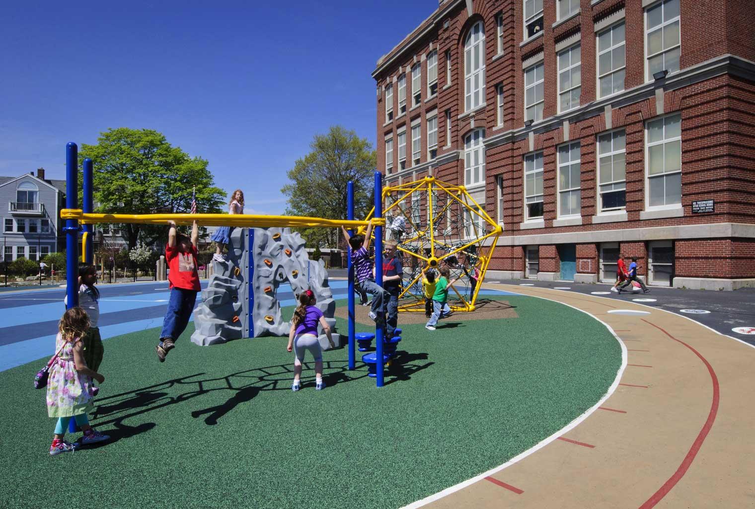 Oliver Hazard Perry Schoolyard