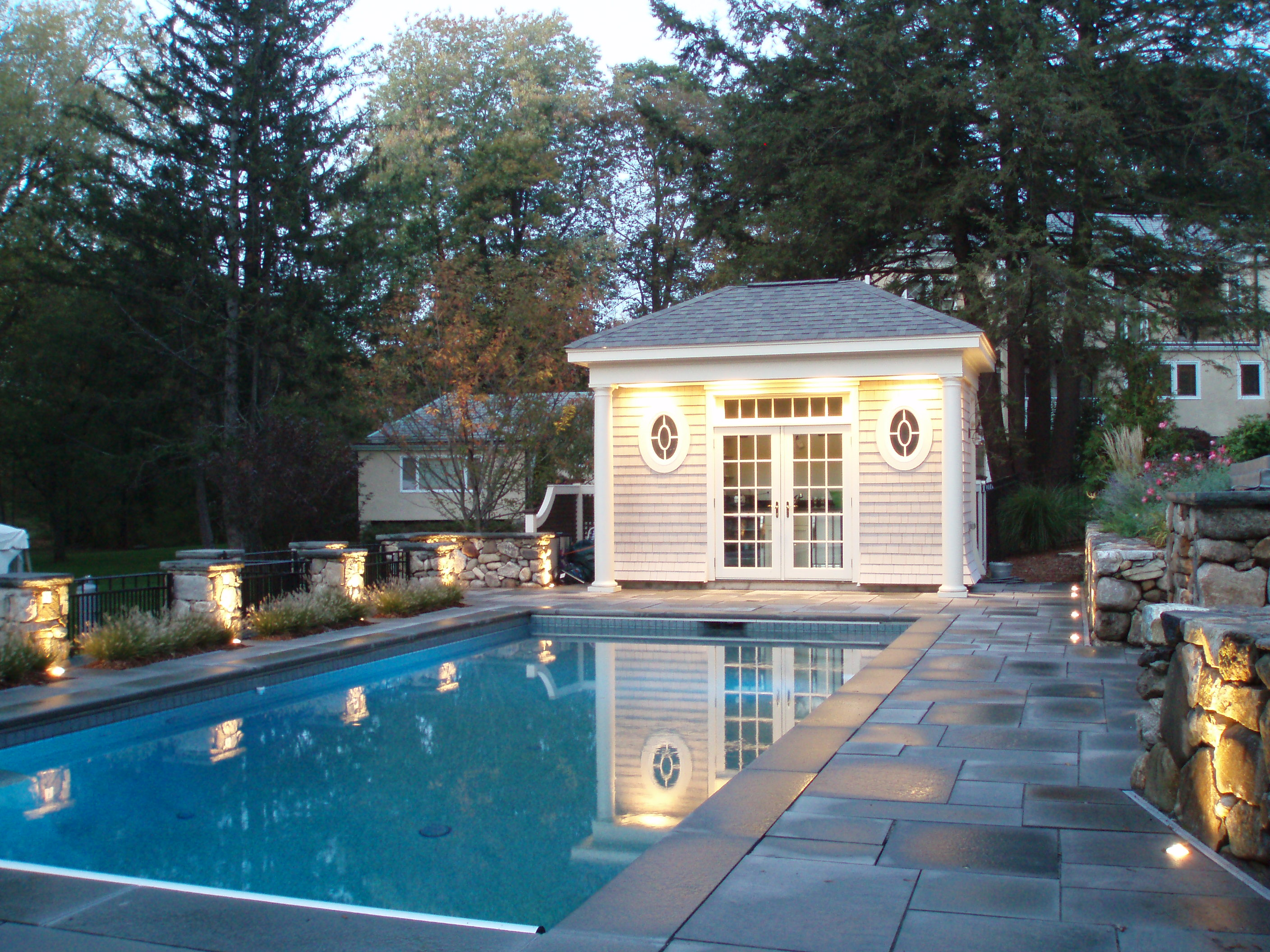 Private Residence Pool House