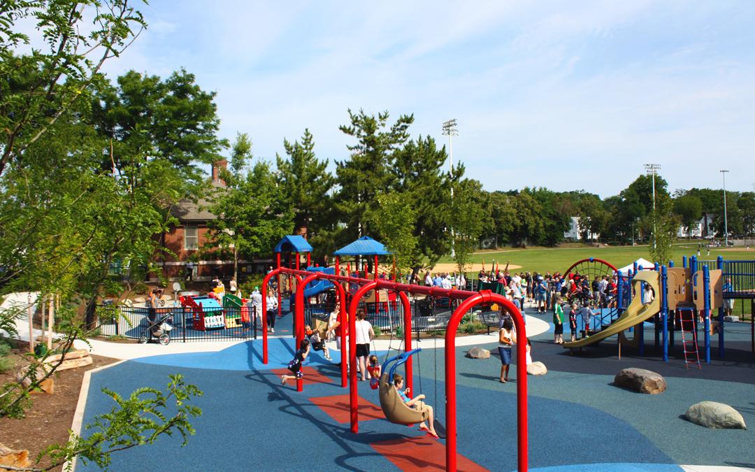 Billings Playground Swings