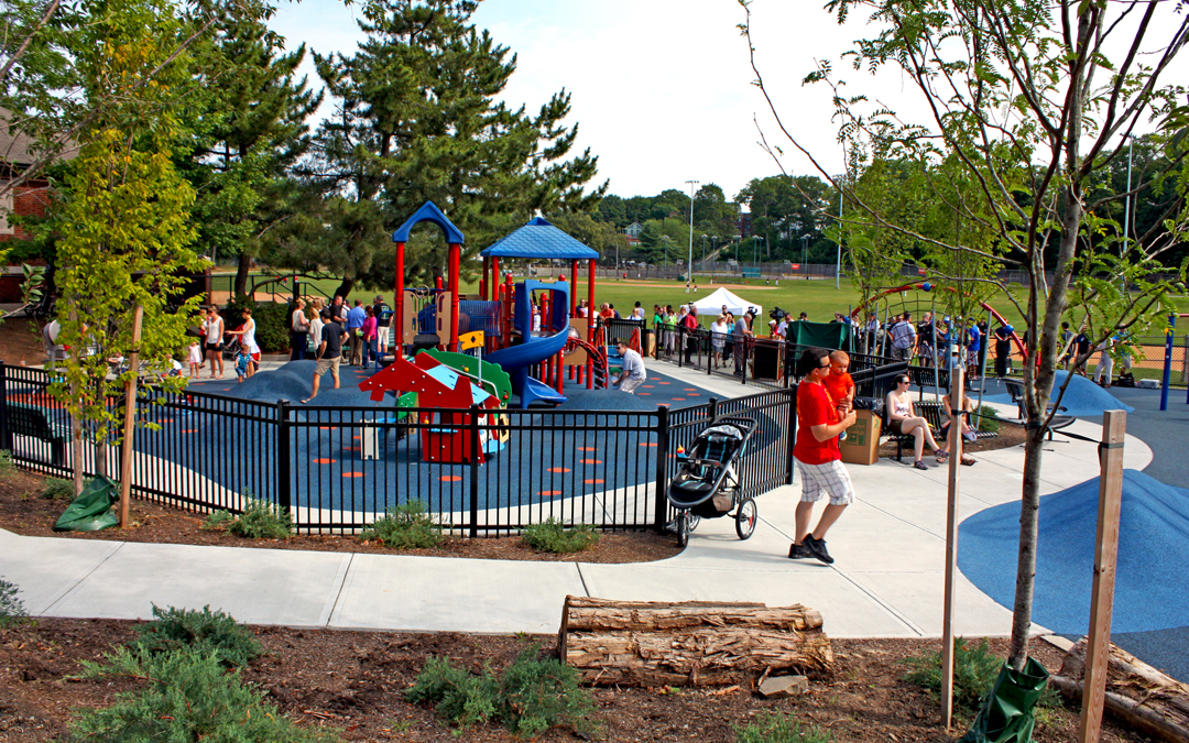 Billings Playground 2-5 Age Play Area