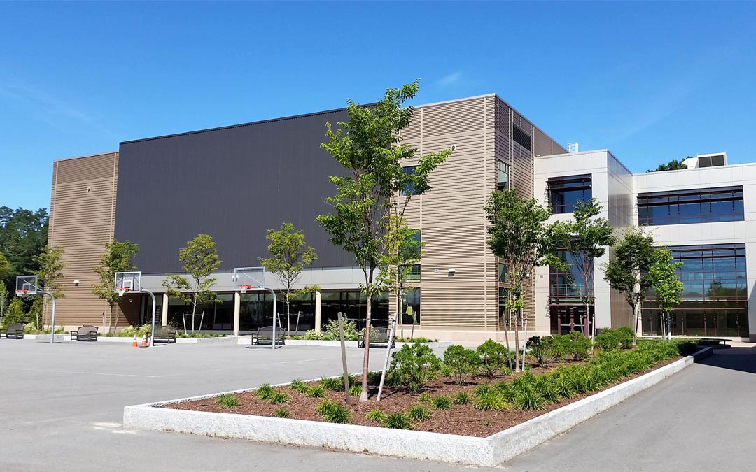 1Sherwood-school-building-basketball-landscape