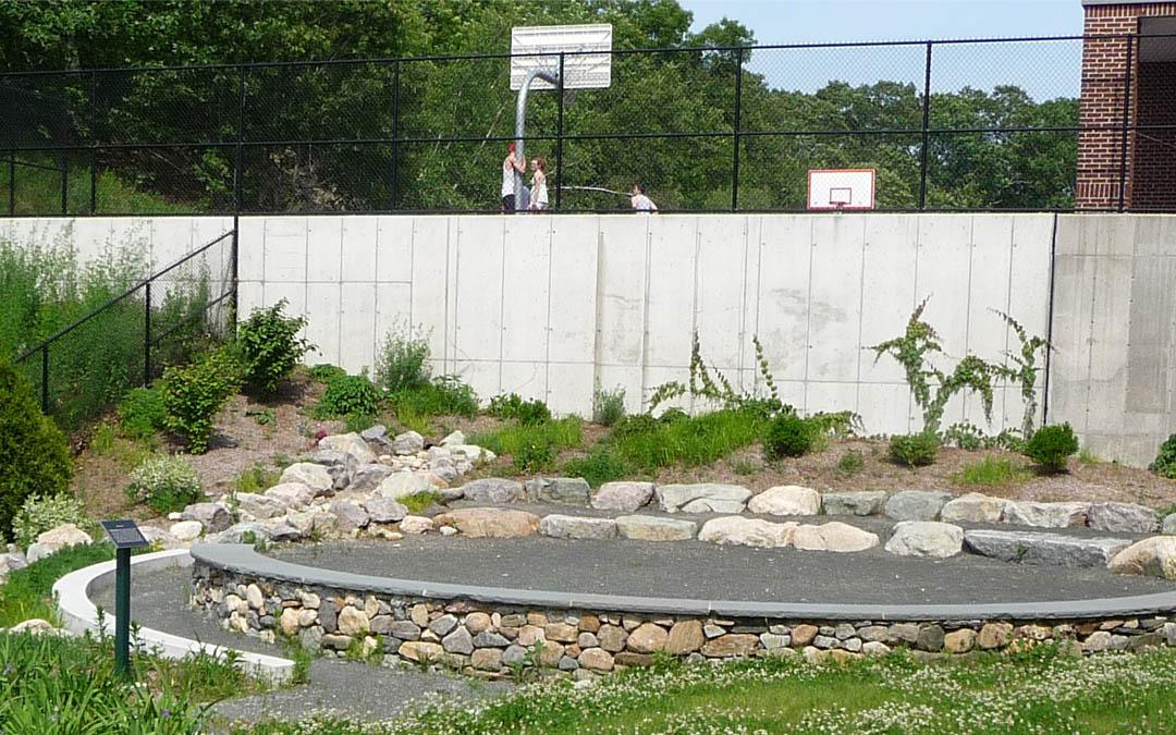 3Avery-Elementary-School-Learning Garden-Wall-Basketball