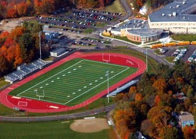 3Weymouth-High School-Master Plan-Track and field-Aerial