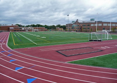 Dedham High School Track and Field Complex
