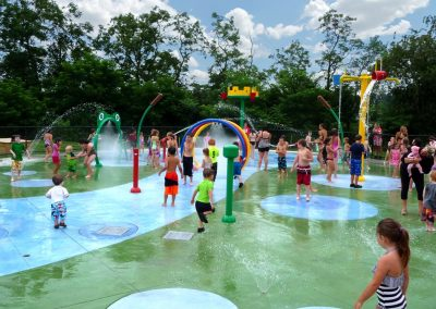Petersen Splash Pad in Watson Park