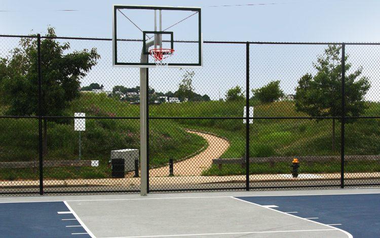 American Legion Basketball Court