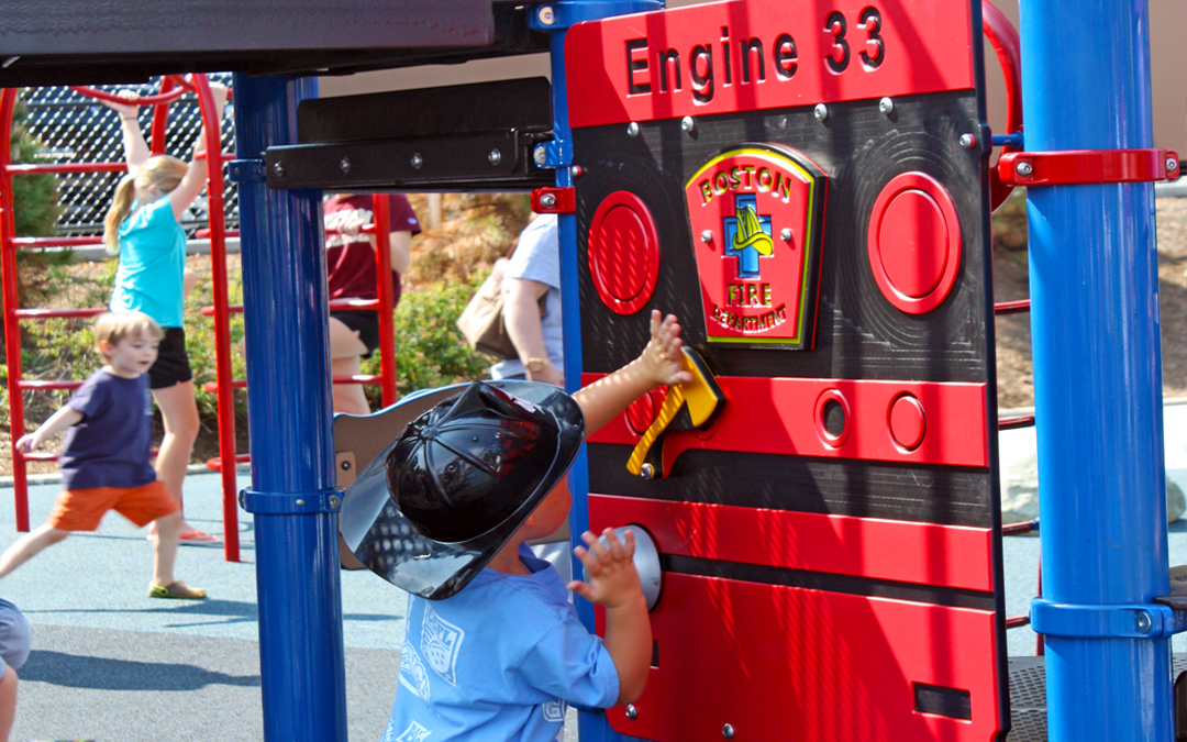 Billings Playground Fire Fighter Memorial Engine 33