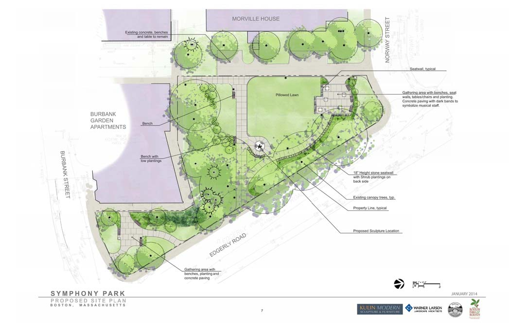 Symphony Park Plan