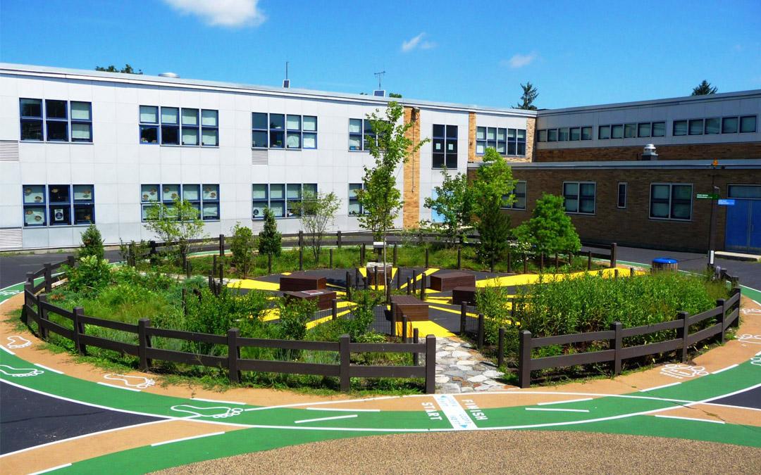 Henry Grew Schoolyard
