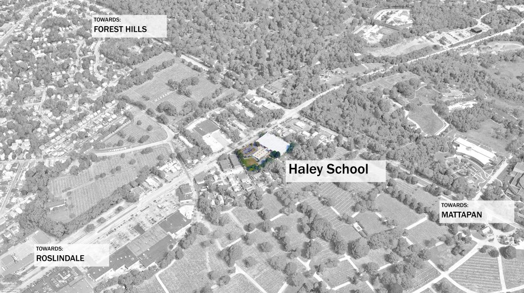 Haley School N view